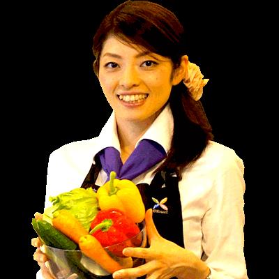 小園亜由美は野菜ソムリエ 上級プロの資格を持っています。
